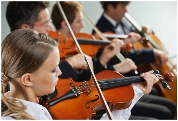 Mozart Violins giving program